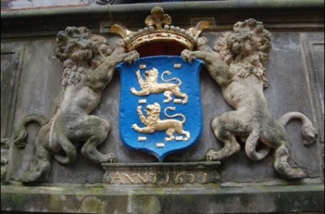 Wappen von Fryslân (ndl. Provinz Friesland)