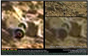 wheels on mars