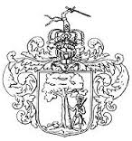 Das Wappen der Ostfriesischen Landschaft von 1678 zeigt den Upstalsboom mit einem Ritter.