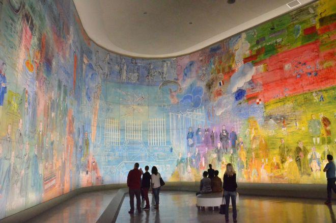 Eindrucksvolle Wissenschaftsgeschichte: »La Fée Électricité« im Musée d'art moderne de la ville de Paris.