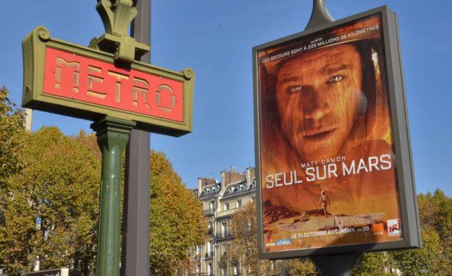 In Franktreich läuft »Der Marsianer« unter dem Titel »Allein auf dem Mars«.