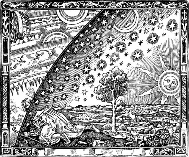 Flammarion_Holzschnitt