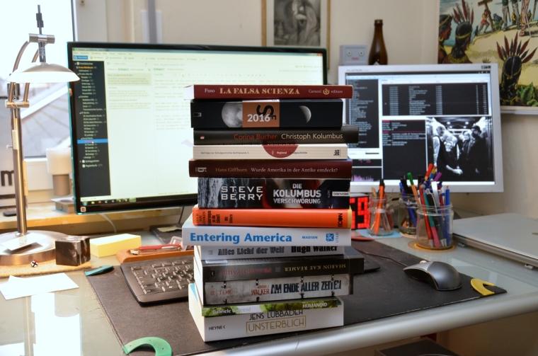 Und das sind noch nicht mal alle gedruckten Bücher. Von den Ebooks ganz zu schweigen.